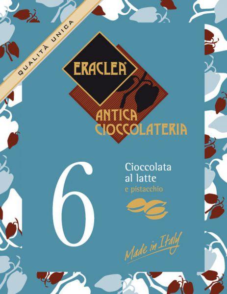 Trinkschokolade - Vollmilch - Pistazien