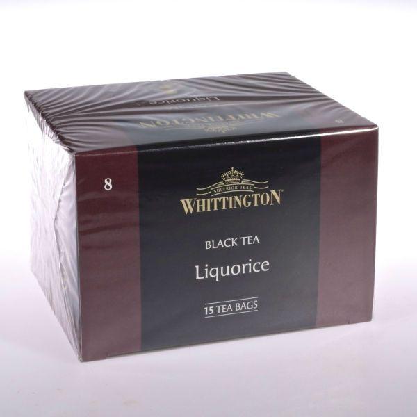 Lakritz Tee - Licorice Tea (Schwarztee) von WHITTINGTON