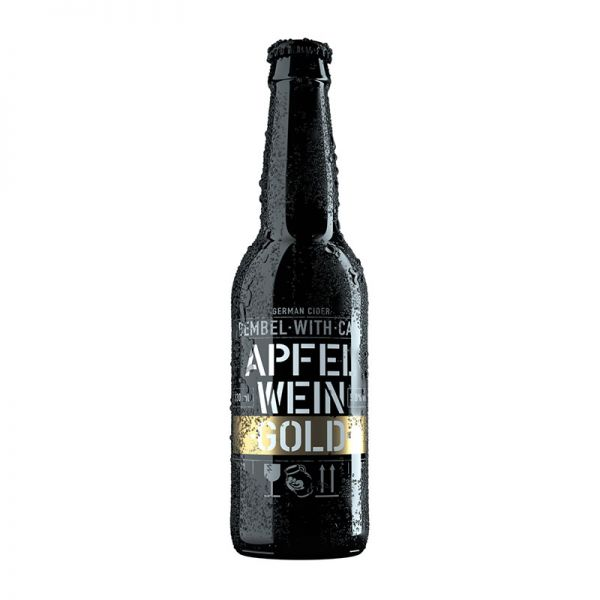 BEMBEL WITH CARE Apfelwein - Gold 0,33L-Flasche
