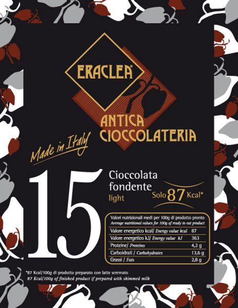 Trinkschokolade - Zartbitter - light