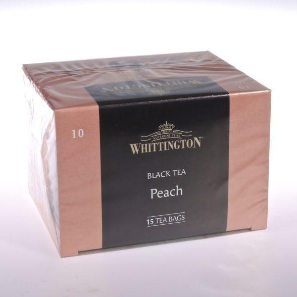 Pfirsichtee - Peach Tee (Schwarztee) von WHITTINGTON