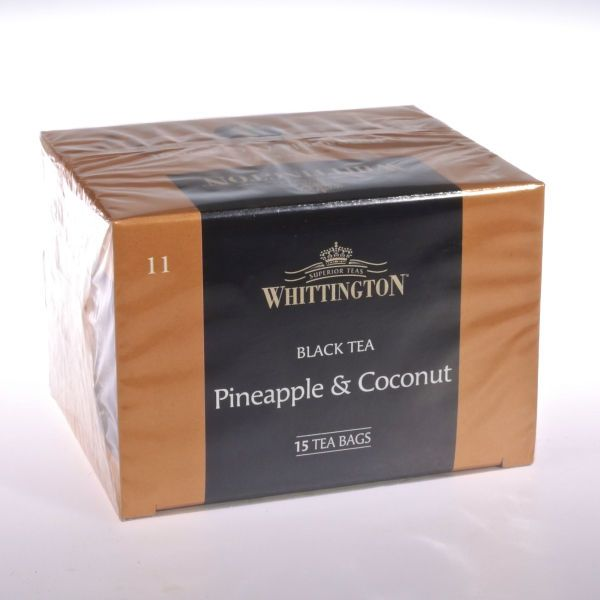 Pineapple & Coconut Tee (Schwarztee) von WHITTINGTON