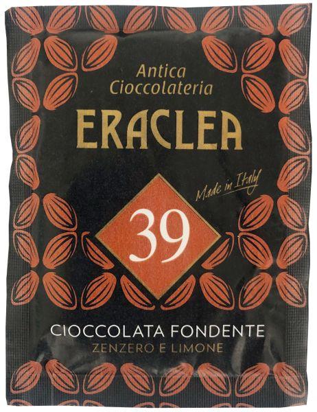 Trinkschokolade - Zartbitter - Ingwer und Zitrone