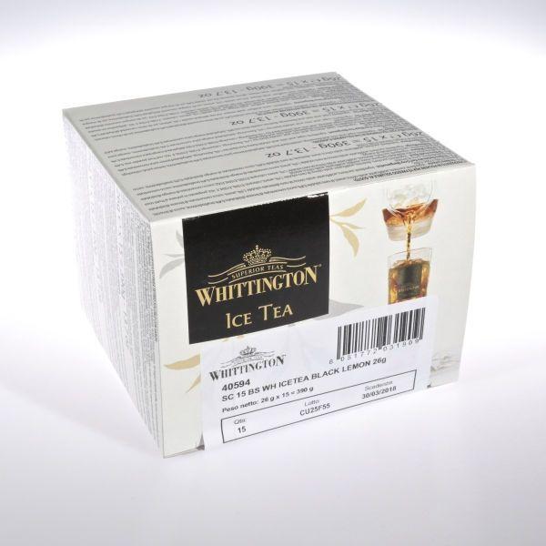 Eistee - Zitrone (schwarzer Tee)