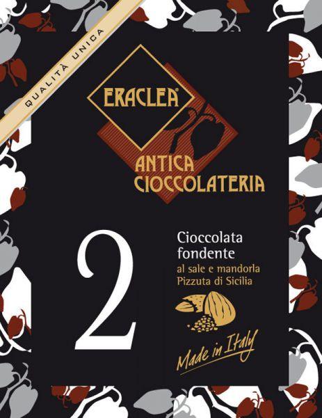 Trinkschokolade - Zartbitter - Salz / Mandeln