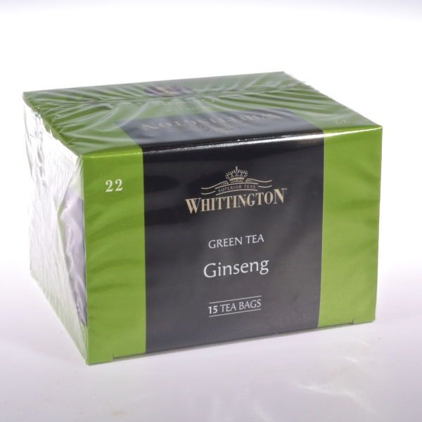 Ingwertee -  Ginseng Tee (Grner Tee) von WHITTINGTON