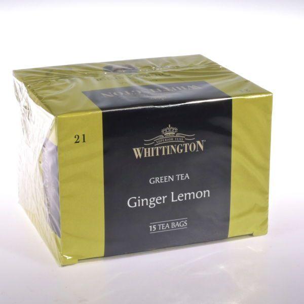 Ingwer Zitronen Tee -  (Grner Tee) von WHITTINGTON
